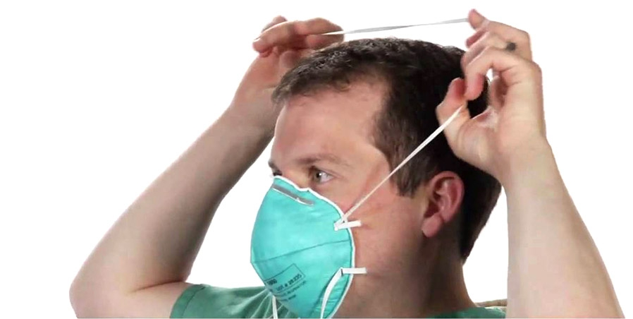 Mask Fits Niagara Fit Disposable Particulate N-95 - Respirator Testing